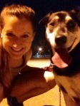 Sky &  I after a 4 mile run in the Cypresswood trails