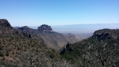 View from the South Rim trail